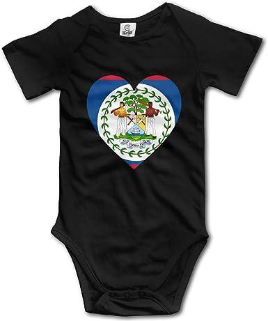 CUTEDWARF Baby Short-Sleeve Onesies Flag of Venezuela Bodysuit Baby Outfits