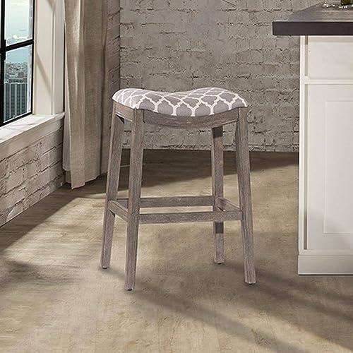 "Hillsdale Sorella 26"" Upholstered Counter Stool"
