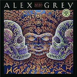 Alex Grey 2020 Wall Calendar