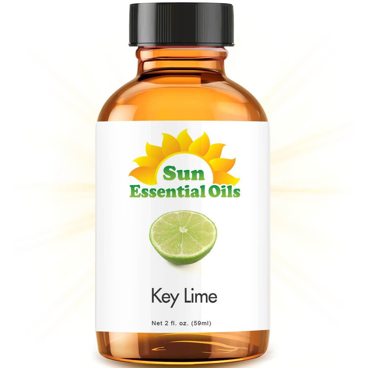 Key Lime Essential Oil (Huge 2oz Bottle) Bulk Key Lime Oil - 2 Ounce