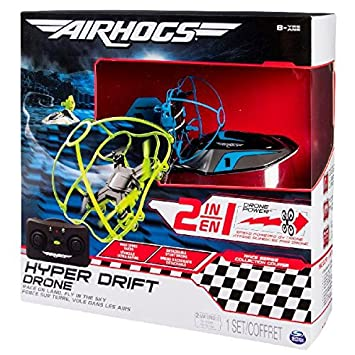 Air Hogs 2 In 1 Hyper Drift Drone For Kids Capable Of High Speed