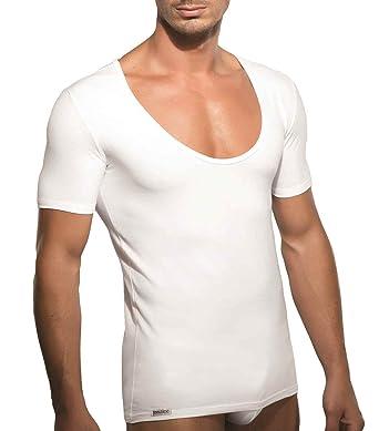 online store 4c046 68241 DOREANSE DU2520 T-Shirt Herren Unterhemd Tiefer Ausschnitt ...