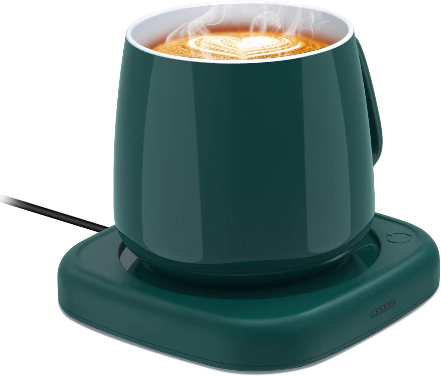 Coffee Mug Warmer for Desk, Coffee Cup Warmer with Auto Shut Off for Home Office, Smart Electric Warmer Plate for Warming Coffee, Milk and Tea (No Cup)