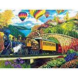 County Express 500pc Collector Puzzle by: Argus Fong by Lafayette Puzzle Factory