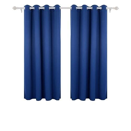 rideau occultant bleu. Black Bedroom Furniture Sets. Home Design Ideas