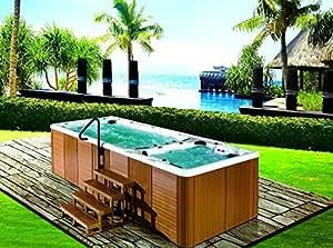Spa & pool combo