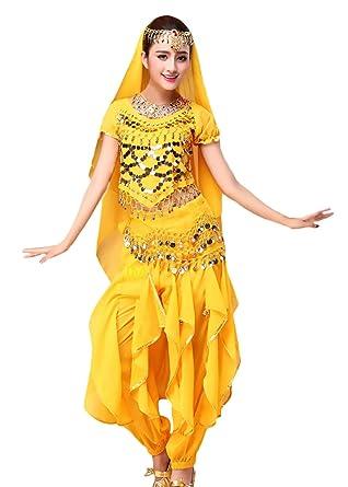 Adelina Mujer Danza del Vientre Trajes Indian Dance Regalos ...