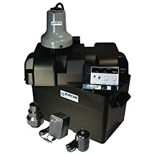 BURCAM 300403 12 Volt Battery Back Up Sump Pump System
