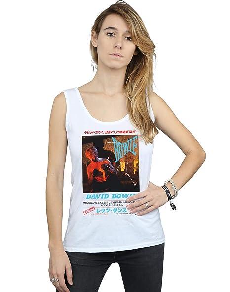 David Bowie Mujer Asian Poster Camiseta Sin Mangas: Amazon.es: Ropa y accesorios