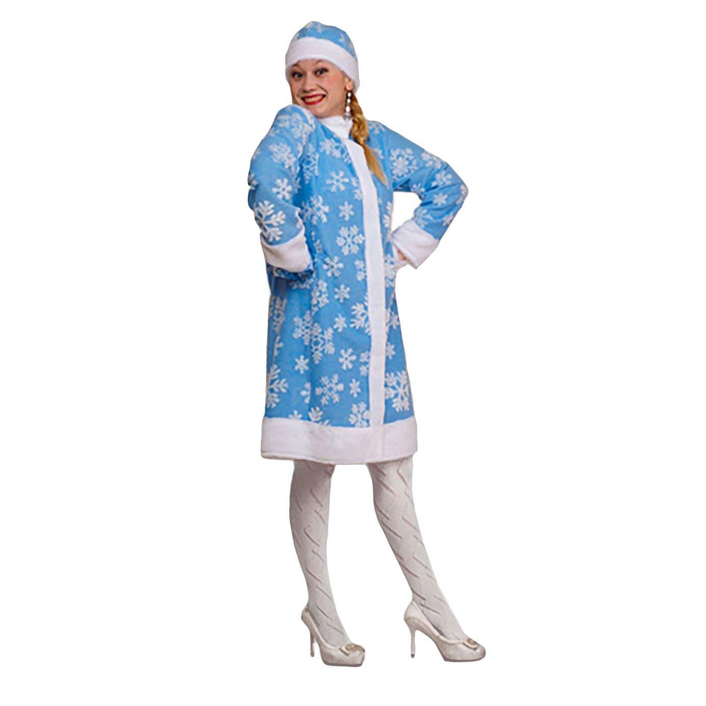 Russouvenir Kostüm 'Snegurotschka' (Schneemädchen) blau, Größe L