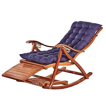 Amazon.com: Silla reclinable plegable para balcón, silla ...