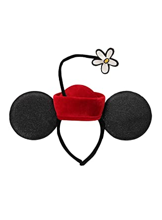 069bf7db13bf4 Amazon.com  elope Disney Minnie Ears Vintage Flower Hat Headband  Clothing