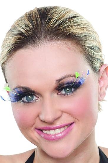 60bbae03ced Amazon.com : Colorful Feather Eyelashes : Beauty