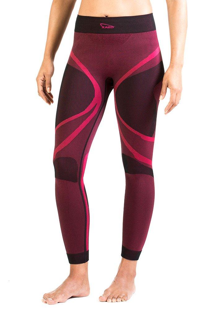 XAED - Pantalón compresivo para mujer (pequeño, negro/fucsia) product image