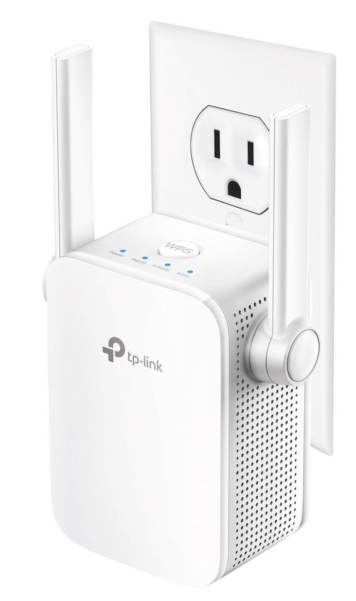 TP-Link AC750 Wi-Fi Range Extender with two External Antennas (RE205) TP-LINK USA