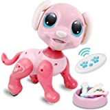 RACPNEL Remote Control Robot Dog Toy, RC Interactive Intelligent Walking Dancing Programmable Robot Puppy with Gesture Sensin