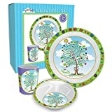 Enesco 4055473 Dinner Set Jesus Tree, 8.7″ H, Blue Review