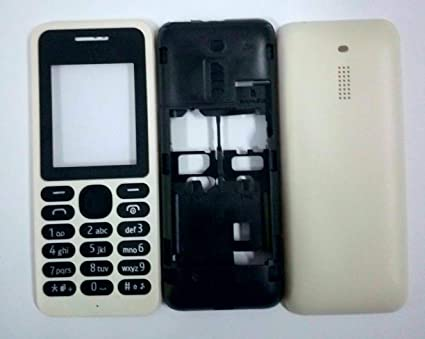 pretty nice 574c8 d859a TOTTA Full Body Housing Panel for Nokia 130- White: Amazon.in ...