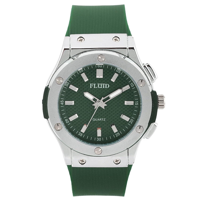 Fluid FL-410-GR ROUND Analog Watch For Unisex