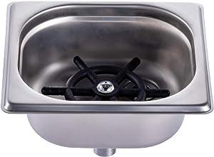 Glass Rinser for Kitchen Sinks, Automatic Cup Washer Machine, Kitchen Sink Accessories, Bar Glass Rinser for Bar, Pub, Restaurant