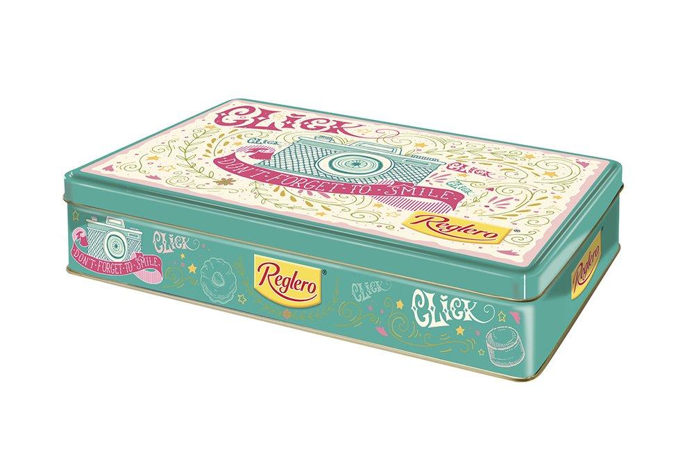 Reglero Galletas Lata Pastas - 3 Paquetes de 400 gr - Total: 1200 ...