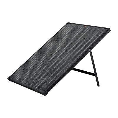 RICH SOLAR 100 Watt 12 Volt Portable Monocrystalline Solar Panel with Kickstand for Portable Power Stations Solar Generators Premium Design : Garden & Outdoor