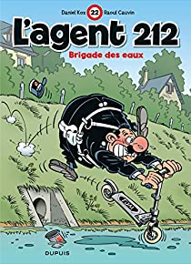 Book's Cover of L'agent 212, tome 22 : Brigade des eaux