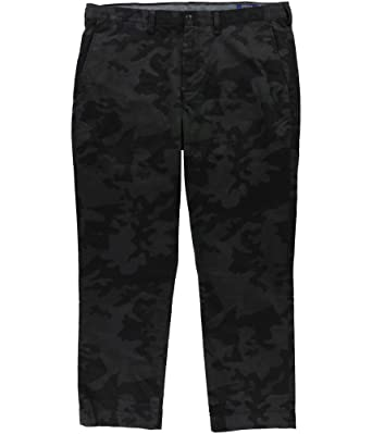 625bc31edd8367 RALPH LAUREN Polo Men's Stretch Straight Fit Bedford Flat Front Chino Pants,  Rider Camo at Amazon Men's Clothing store: