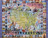 American History Collection Jigsaw Puzzle 1000 Pie , Kid ,Toy , Hobbie , Nice Gift