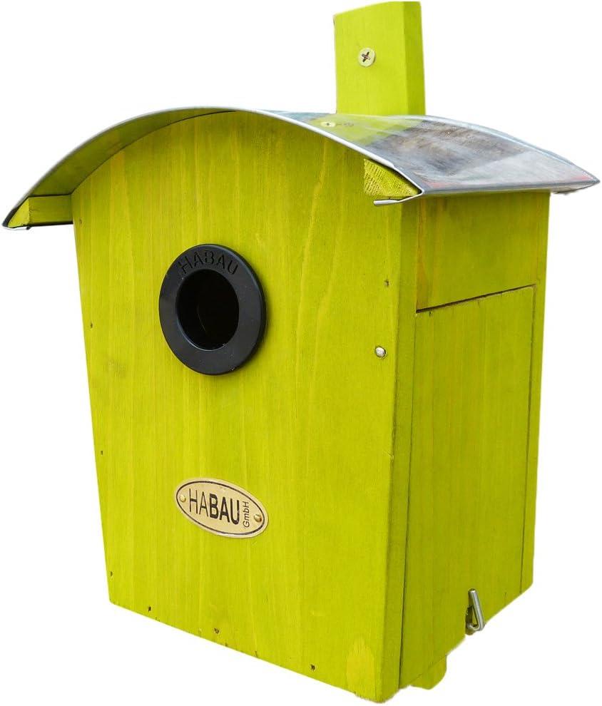 HABAU – Nido 2962 Redondo Techo, Verde: Amazon.es: Productos para mascotas