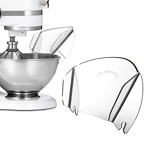 Kitchenaid Pouring Shield Replacement, Universal Pouring Chute for Metal  Bowls Adding Dry & Liquid Ingredients away from Messy or Spraying,  Kitchenaid ...