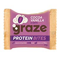 Graze Cocoa Vanilla & Oats Protein Bites 30g (Pack of 15)