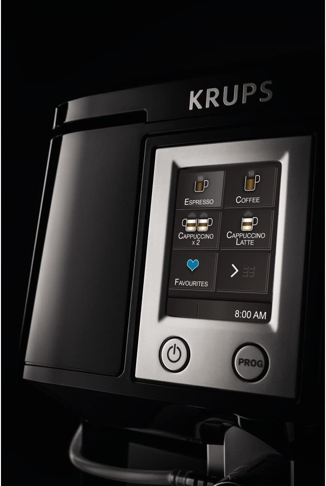 Amazon.com: KRUPS EA89 Deluxe One-Touch máquina de café ...