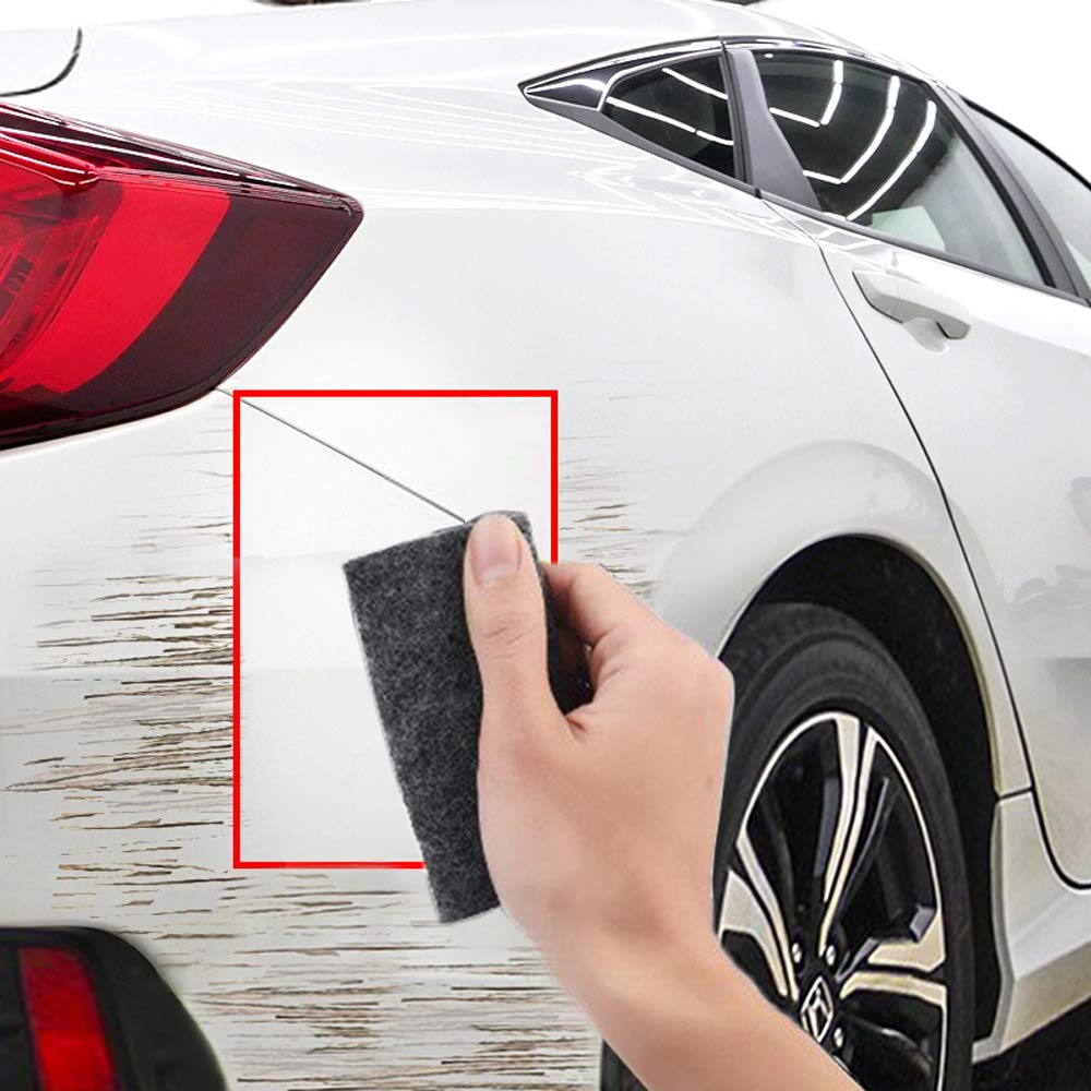 Vigny Car Scratch Remover Cloth, Multipurpose Scratch Remover Cloth for Car,Nano-Tech Smart Scratch Towel,Fix Car Scratch Repair Cloth Polish for Light Paint Scratches Remover Scuffs on Surface Repair