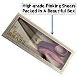 Highgradelife Pinking Shears, 9.2 Inches Handled