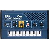 Korg Monotron Duo Dual Oscillator Analog Pocket Synthesizer (International Version - No Warranty)