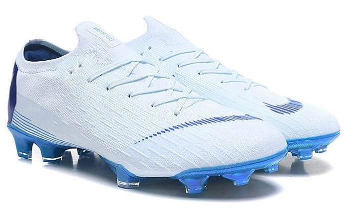 20c1145c6201b Nike Mercurial Vapor Vi 360 Elite FG White Blue Zapatos de fútbol  Amazon.es   Zapatos y complementos