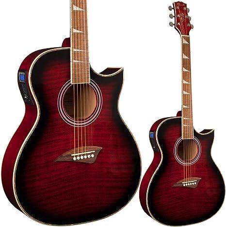 Guitarra electroacústica Lindo Org cuerpo normal con ...