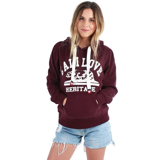 Amazon.com: Cali Love Patrimonio de la mujer pullover ...