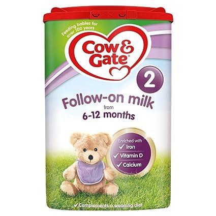 Leche de seguimiento de Cow & Gate 2 de 6 a 12 meses - 800 g ...