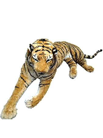 Quality Plush Stuffed Giant Tiger 3m 50cm 12 Foot 144 Head To