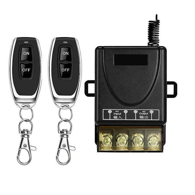 37 opinioni per DONJON,interruttore con telecomando 220V, 110V-240V interruttore senza fili di