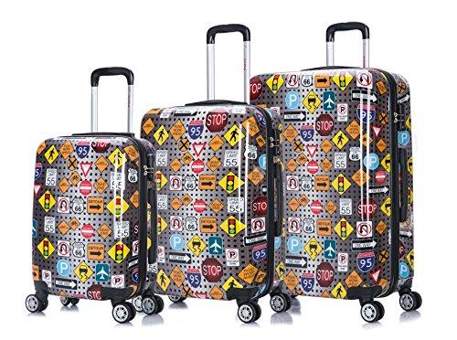 28' Spinner (InUSA Signs lightweight hardside spinner 3 Piece Set 20'',24'',28'' inch)