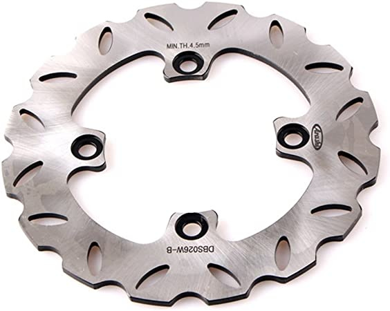 Amazon.com: Mallofusa Rear Brake Disc Rotor Compatible for ...