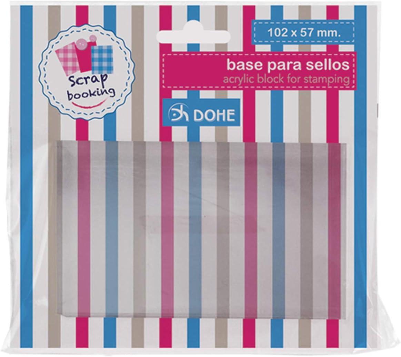 Dohe 18149 - Base para sellos de silicona, 102 x 57 mm: Amazon.es ...