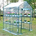 Outsunny Outdoor Portable Walk-in Greenhouse