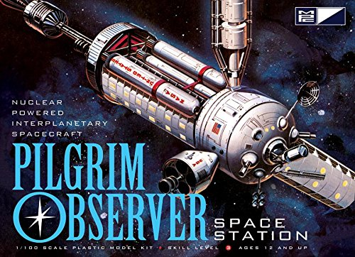 Plastic Nasa Model Kit (MPC Pilgrim Observer Space Station Model Kit)