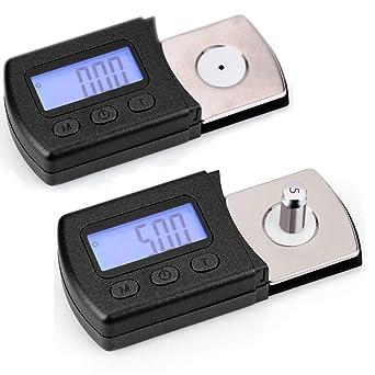 Yeshai3369 - Báscula digital para tocadiscos (5 g, 0,01 g ...
