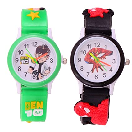 VITREND Cartoon Combo Analog Birthday Gift Watches For Boys And GirlsSent As Per Available