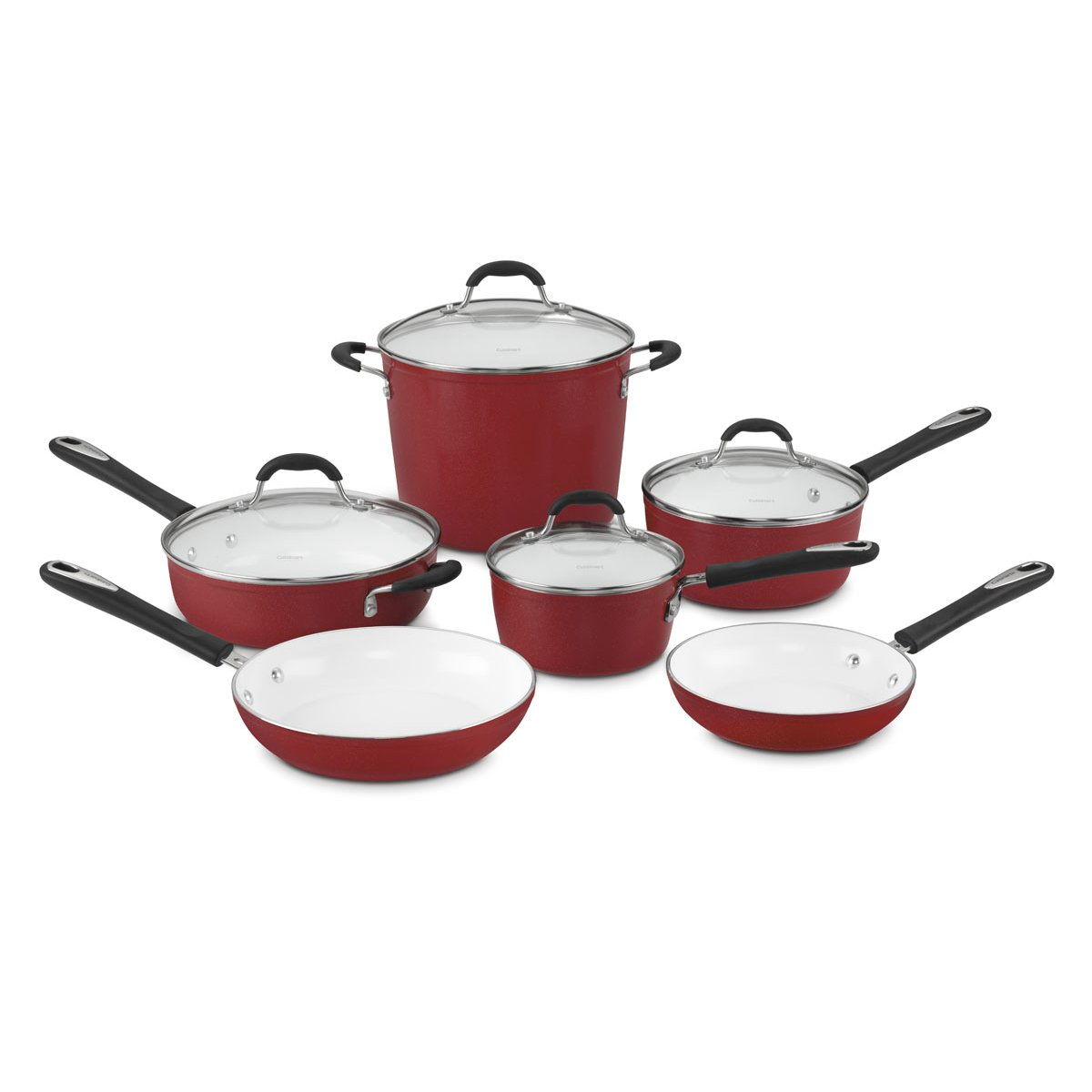 Rachael Ray Nonstick Aluminum Cookware Set with Blue Handles (piece Set) Quick View We work every day to bring you discounts on new products across our entire store. Whether you're looking for memorable gifts or everyday essentials, you can buy them here for less.